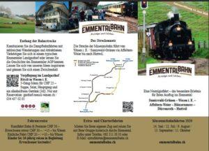 Flyer Emmentalbahn
