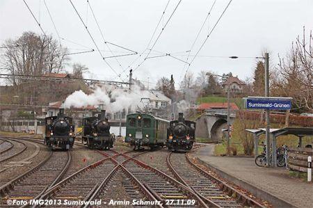 Der Verein Dampfbahn Bern